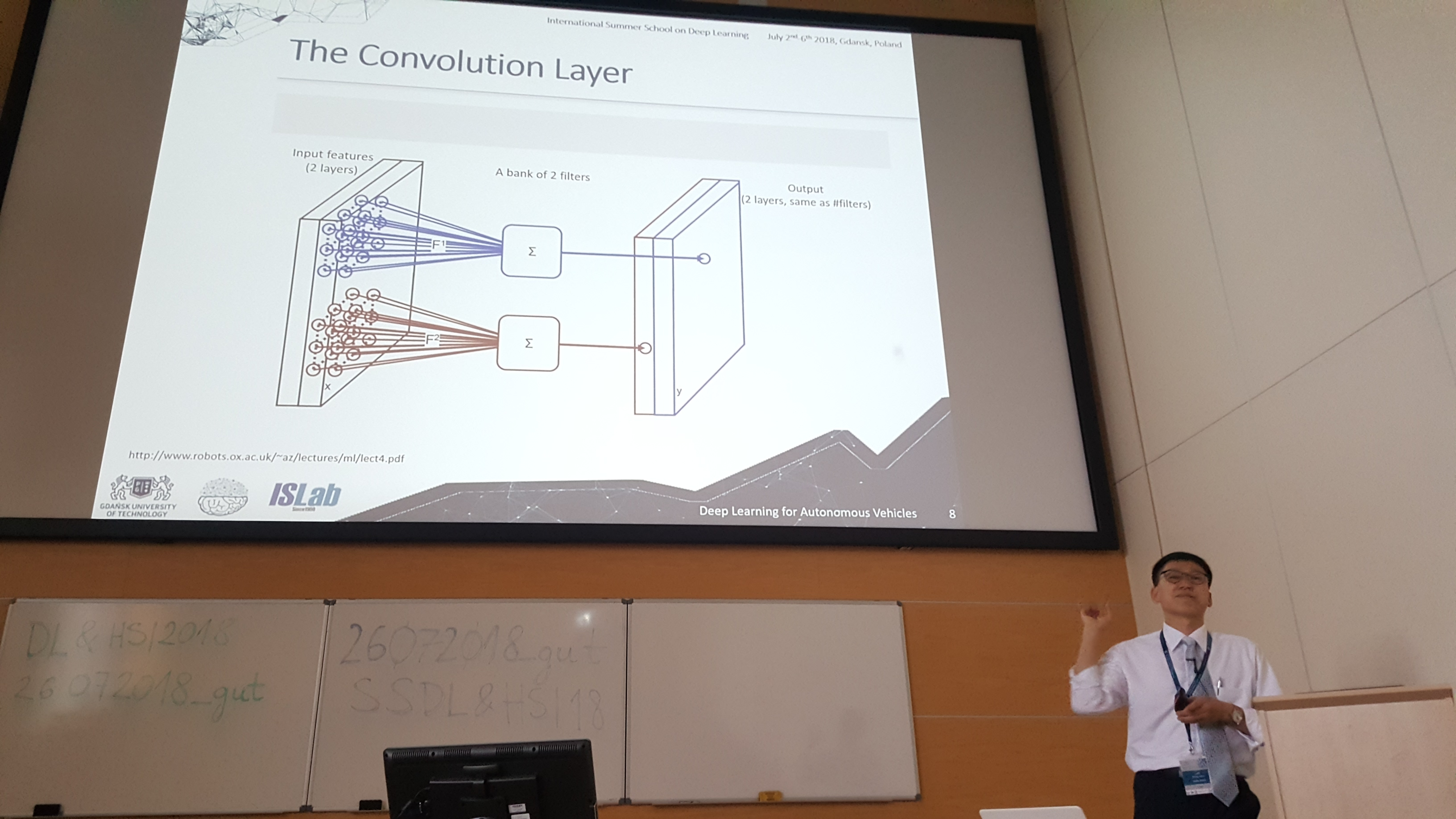 Lecture on Deep Learning for Object Detection